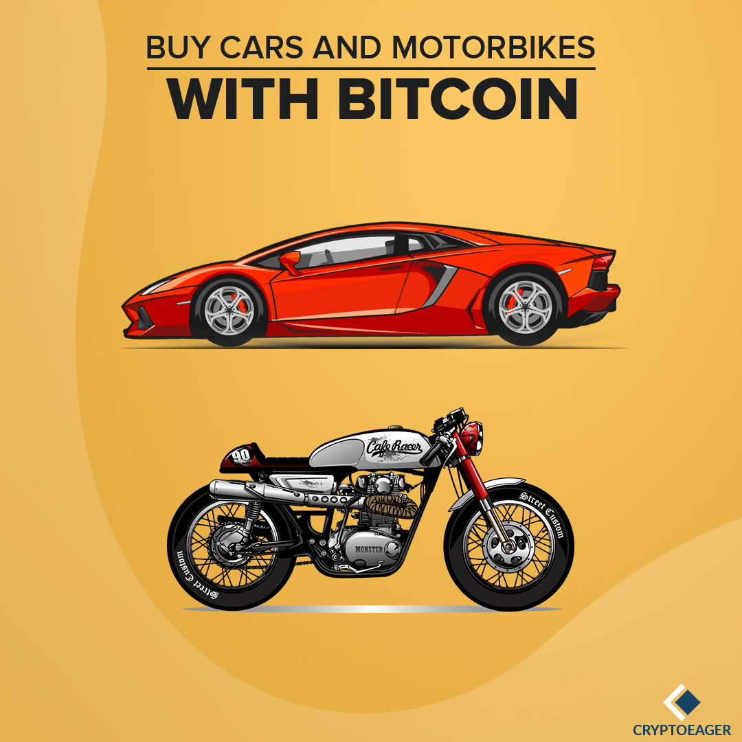 Purchase Cars and Motorbikes with Bitcoin